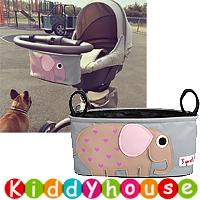 bb嬰兒用品~BB手推車/士的車收納袋(大象) OT136 現貨