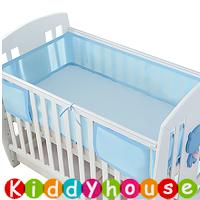 BB嬰兒用品~透氣通爽嬰兒床網圍(有綁帶) NP144 現貨