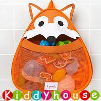 bb嬰兒用品~ 3 Sprouts可愛動物造型浴室收納袋(小狐狸) OT132 現貨