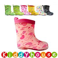 【清貨特價】日單ConBrio優質童裝中筒兒童雨鞋/水鞋Rainboot KB0281 現貨