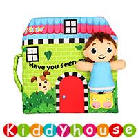 bb嬰兒玩具~立體娃娃早教嬰兒布書 T491 現貨