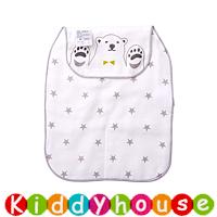 bb嬰兒用品~優質5層紗布墊背吸汗巾 BB1610 現貨