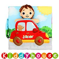 bb嬰兒玩具~立體娃娃早教嬰兒布書 T493 現貨