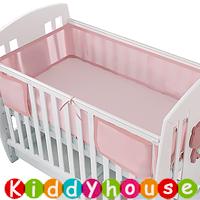 BB嬰兒用品~透氣通爽嬰兒床網圍(有綁帶) NP145 現貨