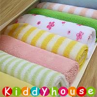 BB嬰兒用品~特價! 毛巾料喂奶巾/毛巾/口水巾/手帕(8片裝) BB177 現貨