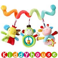 【售完】bb嬰兒用品~彩虹得意小動物嬰兒車床繞 T481 現貨