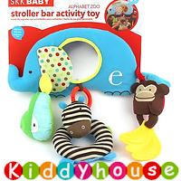 bb嬰兒車玩具/禮物精選~SKK Baby趣緻大象車床掛/吊飾 T234 現貨