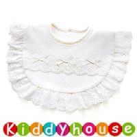 嬰兒用品~小公主純棉口水肩 BB1508 現貨