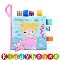bb嬰兒玩具/禮物精選~可愛小動物標籤布書 T618 現貨