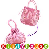 嬰幼兒bb賀年服飾~小公主復古繡花錦緞手提小包 BBA003 現貨
