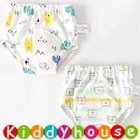 bb嬰兒用品~嬰幼兒六層純棉紗布質地防水學習/戒片/隔尿褲(2條裝) BB1438 現貨