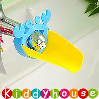 BB嬰兒用品~Loopy Gear可愛小螃蟹水龍頭伸延器(粉藍)  OT173 現貨