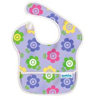 [嬰兒用品]美國Bumkins優質防水餐肩(口水肩)──Flower Garden