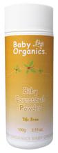 [嬰兒用品]Baby Organics 嬰兒有機玉米澱粉(非滑石)– 100g