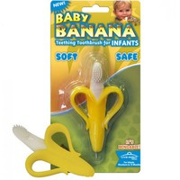 美國 Baby Banana Brush 嬰兒香蕉牙膠牙刷
