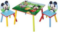 Mickey and Friends 米奇與朋友木桌和椅組合