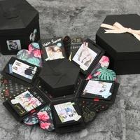 手作情人節驚喜禮物 ~ DIY相片六角形禮物盒子 (DIY相簿)