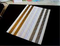[DIY相簿配件] 相片角貼一張102個 - 金銀白色 (買五送一)