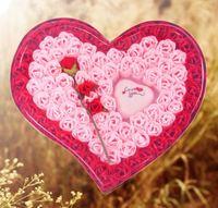 ❤ 2018情人節禮物推介 (現貨) ❤ 精裝82朵玫瑰花香皂花/手工皂 + LOVE YOU 閃燈 (情人節花束/訂花/送花)