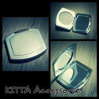 K31 優雅銀灰色長形鏡盒