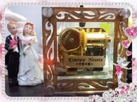 2018 女朋友生日/情人節禮物 - 創意DIY心意相架天空之城音樂盒(可放情侶相/結婚相)