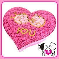❤ 情人節/聖誕節禮物 ❤ F27 Sweet Kiss 100朵皂玫瑰花禮盒(4色選)