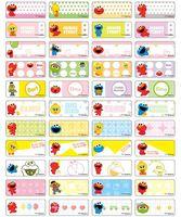 Sesame Street name stickers 芝麻街姓名貼紙 - 2209