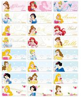 ​Classical Princess name stickers 經典公主姓名貼紙 -3013