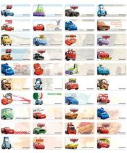 Classical CARS name stickers 經典車王姓名貼紙 -2209