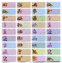 Baby Pooh Bear name stickers 嬰兒維尼姓名貼紙 E503