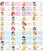 Classical Princess name stickers 經典公主姓名貼紙 -2209