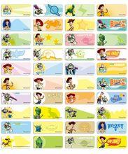 Toy Story 3 name stickers 經典玩具總動員3姓名貼紙 -2209