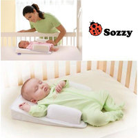 BB安全舒適睡眠墊 睡枕 嬰兒床中床 定型枕 防翻身 吐奶枕