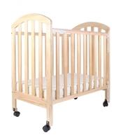((向日葵))Evenflo 嬰兒紐西蘭松木床 BB床  - 原木色 (另送3