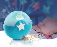 ((向日葵小屋)) 美國 Infantino 甜夢寶寶多功能安撫床鈴 嬰兒睡覺搖籃曲 感應小夜燈 8折優惠 (104882)