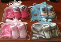 ((向日葵小屋))香港孕婦及嬰幼兒專門店/嬰兒/手足襪套裝/純棉寶寶襪子+手套/兩件套/網袋精裝/多款選/嬰兒襪/#W03/105133