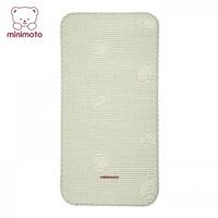 ((向日葵小屋)) Minimoto 夏季嬰兒床雙層清涼透氣草蓆 95x53CM 106015