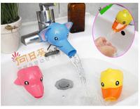 ((向日葵小屋)) 卡通造型兒童導水槽 寶寶洗手器水龍頭延伸器兒童洗漱洗手必備 3色 (104716)