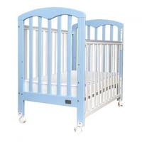 """(向日葵小屋)香港孕婦及嬰幼兒專門店/Baby Star Cozzi 嬰兒木床(包括4"""" 床褥) –  歐洲櫸木 3段調校  BS4326  (另送床笠1張)"""