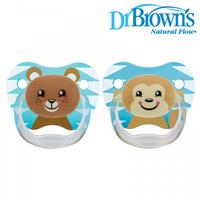 (向日葵小屋)香港孕婦及嬰幼兒專門店/Dr. Brown's /減壓式安撫奶咀 2個裝 PreVent Pacifier 2s