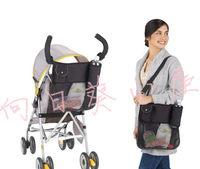 (向日葵小屋)香港孕婦及嬰幼兒專門店/實用/嬰兒手推車/士的車收納袋/兩用/可側揹袋/置物袋/媽咪袋/#104620