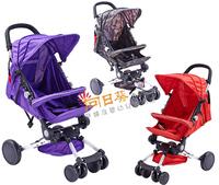 ((已售完)) 香港孕婦及嬰幼兒專門店/出口歐美/超輕便/鋁制/防震/可半躺/嬰兒手推車/BB手推車/士的車/#003