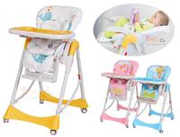 ((向日葵小屋))香港孕婦及嬰幼兒專門店/嬰兒高腳餐椅/多功能/BB High chair/便攜式可摺疊/升降調較/可平躺/免工具安裝/#105487