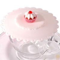 神奇防漏杯蓋  / 矽膠杯蓋   蛋糕款