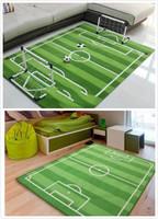 兒童高密度足球場地毯/手工足球場地毯/足球場地毯 /茶几地毯 120cm×170cm送一球門