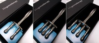全新真材實料304不鏽鋼6000高斯磁性按摩棒, 磁叉, 排酸棒, 刮沙棒, 美容棒