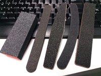 (已售出) 全新5款不同形狀雙面美甲手指甲腳指甲銼