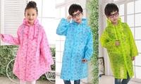 全新兒童雨衣, 小學生雨衣, 附設書包位, 款式新, 方便攜帶