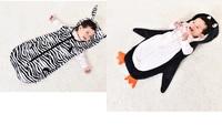 可愛動物嬰兒多功能防踢被睡袋泠氣被(下單時請備註款式)