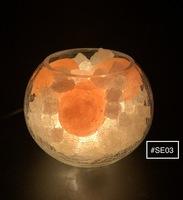【實拍商品】蓋婭鹽晶 - 特式岩鹽鹽燈 (蛋型) (1入) #SE03